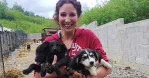 Ina Ritan Romanian dog rescuer