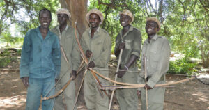 anti-snaring team through the charitable Turgwe Hippo Trust
